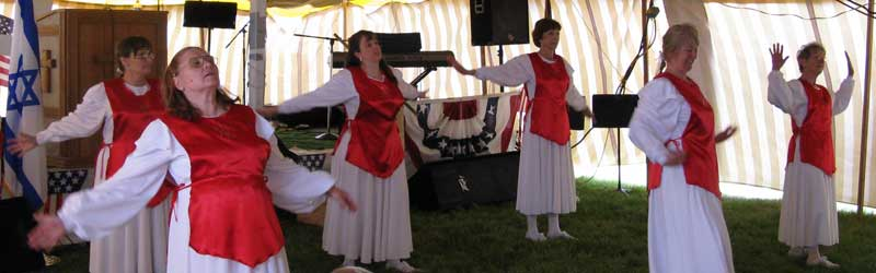 For His Glory Dance Troupe at America, Bless God Days in Tulelake, California