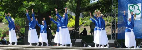 For His Glory Dance Troupe at Klamath Falls' Praise In The Park