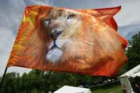 Flag: Lion of Judah, available at For His Glory Flags and Gifts